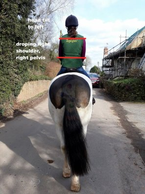 emma back of horse